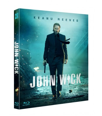 BLU-RAY / JOHN WICK - FULL SLIP (PLAIN EDITION)