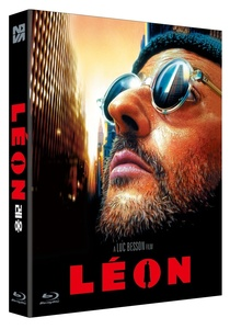 BLU-RAY / LEON THEATRICAL VER. + DIRECTORS VER. (SCANAVO CASE + 16P BOOKLET)