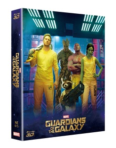 GUARDIANS OF THE GALAXY VOL.1 STEELBOOK FULL SLIP B (NE#15)