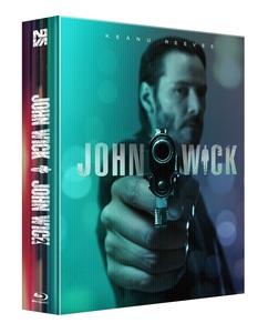 BLU-RAY / JOHN WICK 1&2 DOUBLE SIDE FULL SLIP LENTICULAR EDITION (1,000 NUMBERED)