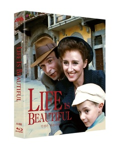 BLU-RAY / LIFE IS BEAUTIFUL (1997) LENTICULAR FULL SLIP LE