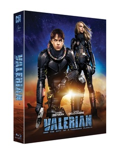 BLU-RAY / VALERIAN AND THE CITY OF A THOUSAND PLANETS LENTICULAR FULL SLIP LE (500 NUMBERED)