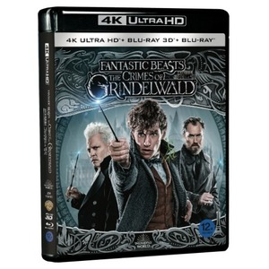 BLU-RAY / Fantastic Beasts: The Crimes of Grindelwald (2D+3D+4K UHD)