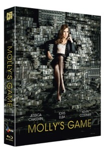 BLU-RAY / Molly's Game LENTICULAR FULL SLIP LE (700 NUMBERED)