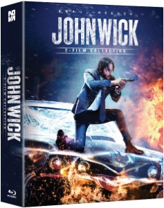 BLU-RAY / JOHN WICK 1+2 DOUBLE PACK